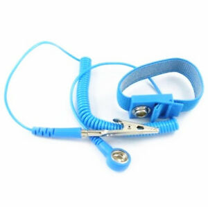 5pcs Anti Static ESD Wrist Strap Discharge Band Grounding Prevent Static Shock