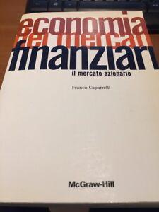 afe0461a83 Economia dei mercati finanziari. Il mercato azionario di Franco ...