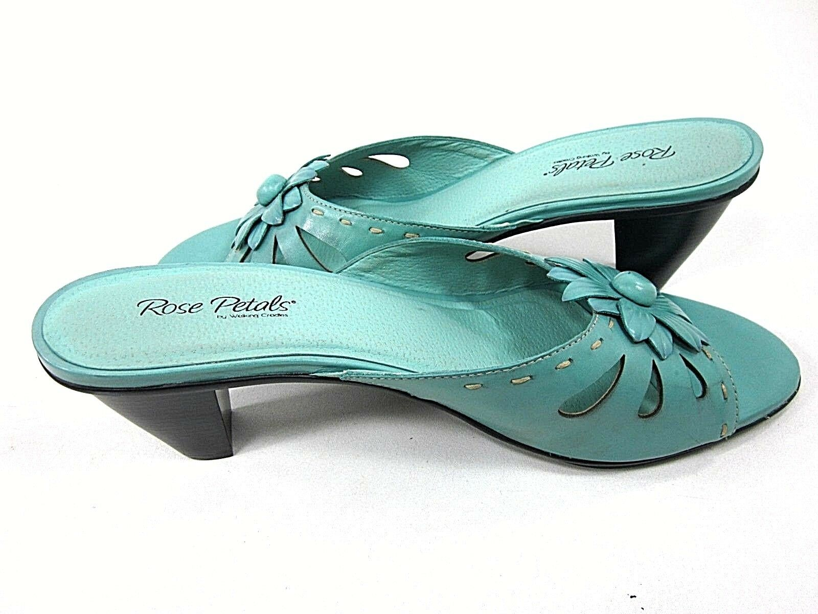 WALKING US CRADLES SADIE PLATFORM PUMP WOMEN'S TURQUOISE US WALKING SIZE 13M NEW/ DISPLAY d23aac
