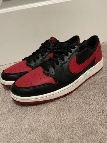 NikeAir Jordan 1 Low OG Sz 12 BRED Travis Scott Of
