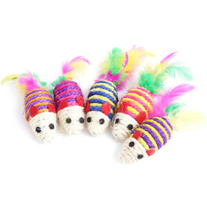 Cat-Feather-Toy-False-Mouse-Interactive-Mini-Funny-Animal-Playing-Toys-ZB-D
