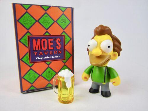 "Kidrobot The Simpsons Moe's Tavern 3"" Vinyl Mini Figure Lenny 2//24 Rarity"