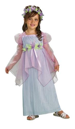 Little Goddess Princess Renaissance Wench Fancy Dress Up Halloween Child Costume