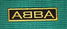 ABBA Rock Music band Logo Iron/ Sew-on Embroidered Patch / Badge