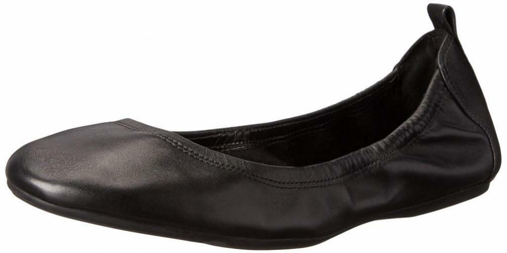 Cole Haan Wouomo Jenni II Ballet Flat Comfort Casual Slip-On Leather Sandals