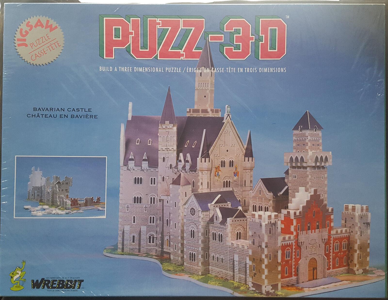 3d - bayrischen schloss puzzle von wrebbit neue   versiegelt