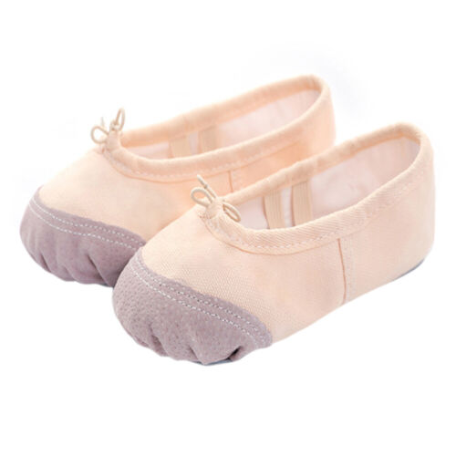 Newborn Kids Toddler Canvas Shoes Baby Girl Ballet Dance Shoes Gymnastics Shoes