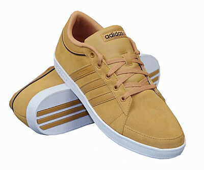 RARE Adidas Neo Label Gold Trainers Ortholite Men's 11.5 Casual Low Top NEW 2A | eBay