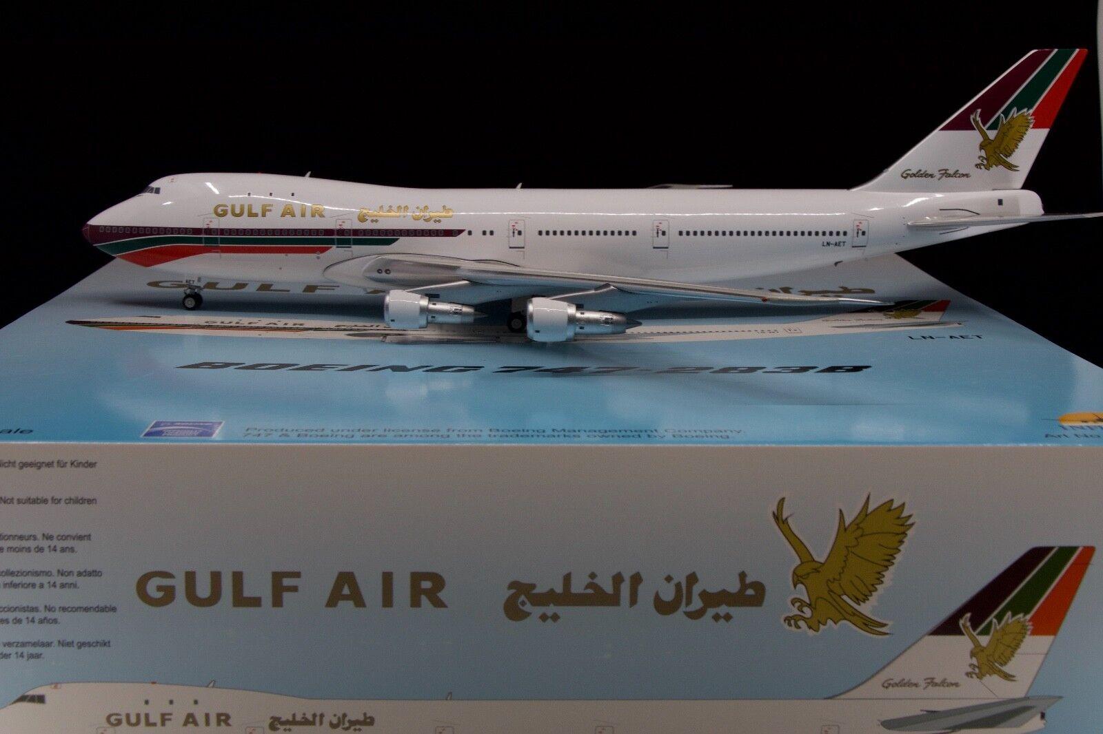 Gulf Air 747-200 LN-AET 1/200 Inflight200