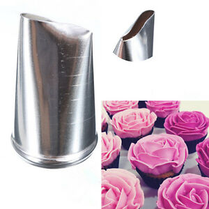 Rose Flower Icing Piping Nozzle Tips Fondant SugarCraft ...