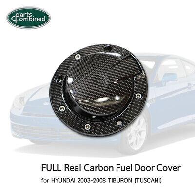 TUSCANI Real Carbon Fuel Door Cover Lid for HYUNDAI 2003-2008 TIBURON