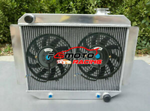 3-Row-Alloy-Radiator-Fan-For-HOLDEN-Kingswood-HD-HR-HK-HT-HG-6cyl-1966-1970-AT