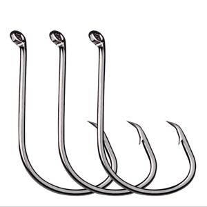 100pk Octopus Fishing Hook Barb Sharpened Single Jig Fishing Hooks Size 1//0-8//0#