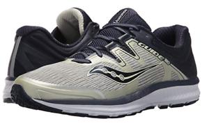Saucony Guide ISO tamaño nos 8 m (D) Para hombres Zapatos para Correr gris Azul Marino S20415-1