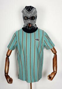 Huf Worldwide Skateboard T-Shirt Tee Jerome YDS Knit Top Beryl Green in M