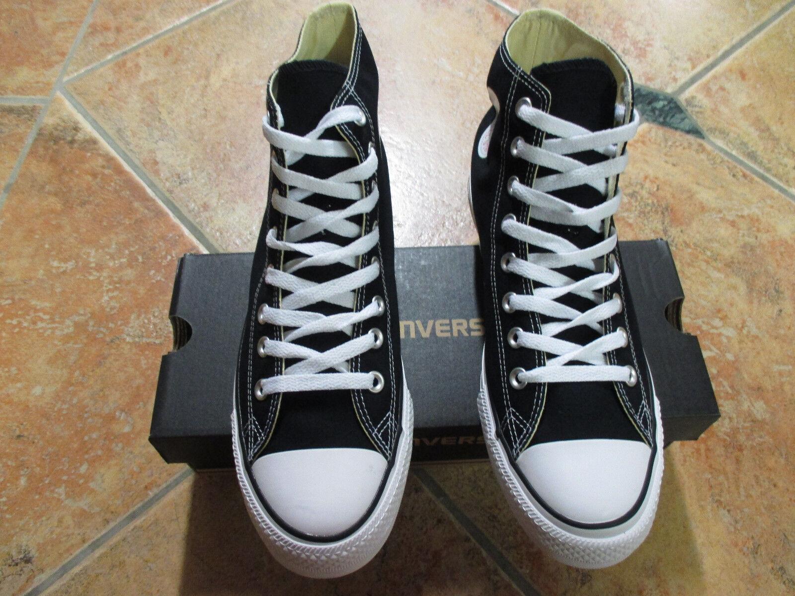 Converse Chucks All Star HI Größe 43 BLACK schwarz M9160C Neu  Sneaker