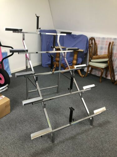 KESTREL BIKE BICYCLE METAL DISPLAY SHOW STAND 5 TIER TIERED GOOD CONDITION