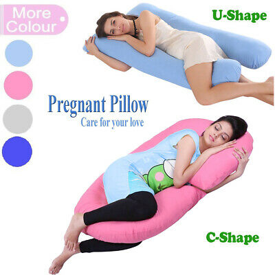 u shape pregnancy pillow full body pillow for maternity pregnant women ebay