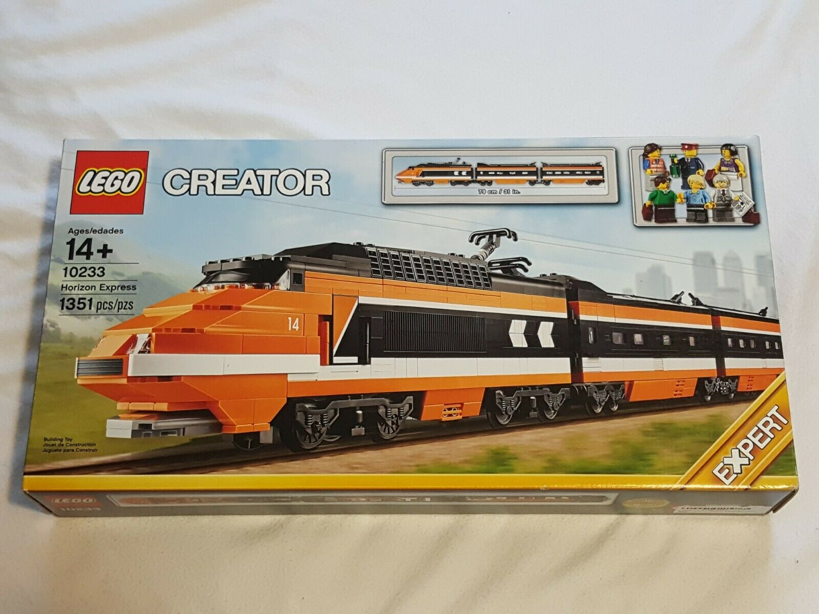 NEW Lego Creator 10233 Horizon Express Train Set SEALED Legos horrizon xpress