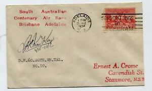 BRIS-ADEL-AIR-RACE-16-18-Dec-1936-AAMC-680-Carried-amp-signed-J-C-K-MacKenzie