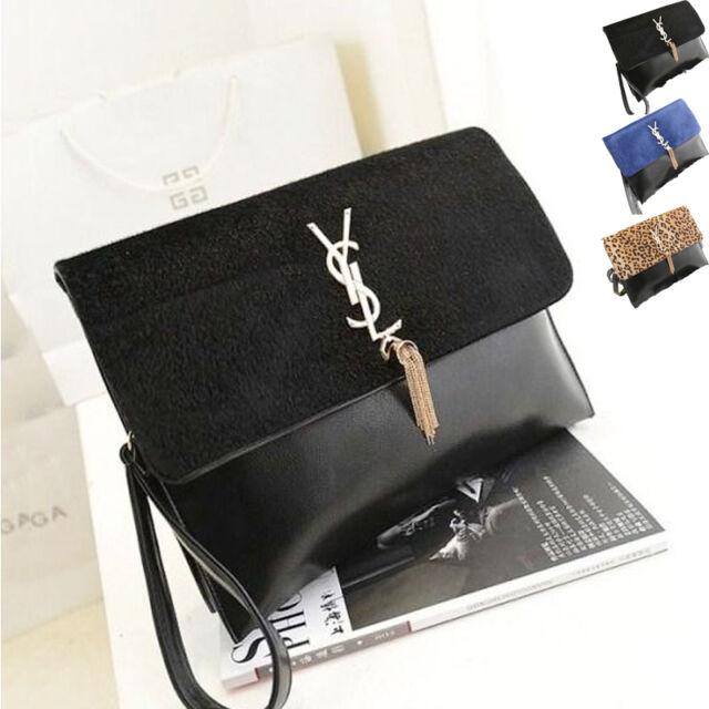 Sale Women Ladies Clutch Shoulder Evening Envelope Shoulder Bags Handbags Purses