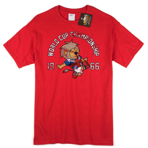 Fan Shirt 1966 Champions Retro Football NEW World Cup Willie Inspired T-shirt