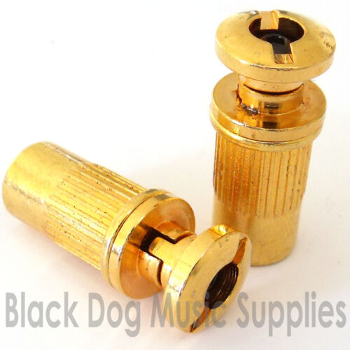 or Gold TB100 Black Guitar locking tailpiece stop bar posts in Chrome