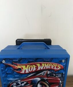 HotWheels-Car-Carry-Case-with-AAdjustable-Handle-Holds-100-Cars-2005-Tara-Toy