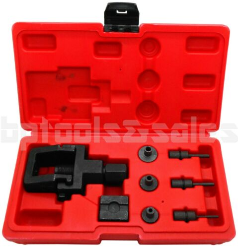 8pc Heavy Duty Motorcycle / Bike Chain Splitter and Riveting Tool Set w/ Case