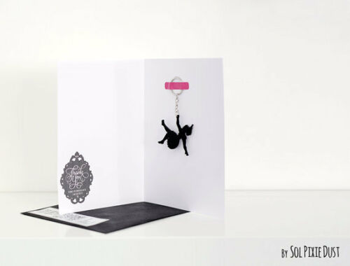Labrador Keychain Silhouette
