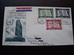 Vereinten-Nationen-New-York-Umschlag-1er-Tag-24-10-1955-B6-Vereinigte-Uno