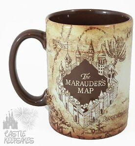Universal-Wizarding-World-Harry-Potter-Marauder-039-s-Map-Coffee-Mug-Exclusive-NEW