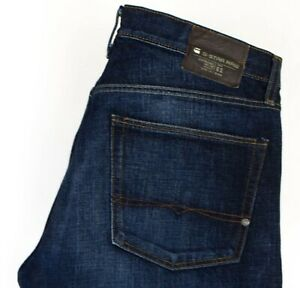 G-star-Crudo-Uomo-Classico-Regular-Jeans-Taglia-W34-L26-ACZ865