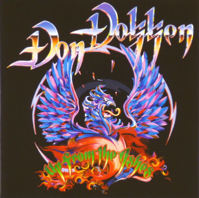 CD - Don Dokken - Up From The Ashes - #A1580