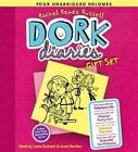 Dork Diaries Gift Set: Tales from a Not-So-Fabulous Life/Tales from a Not-So-Popular Party Girl/Tales from a Not-So-Talented Pop Star/Tales from a Not-So Graceful Ice Princess by Rachel Ren Russell (CD-Audio, 2014)