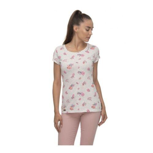 Ragwear Mint Flowersvegan produziertes T-Shirt
