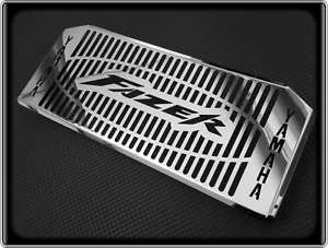 Polished-Radiator-Cooler-Grill-for-YAMAHA-FZS600-FAZER-1998-to-2003-FZS-600