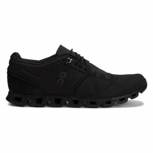 On Hombre Cloud Todo Negro Zapatillas para Correr
