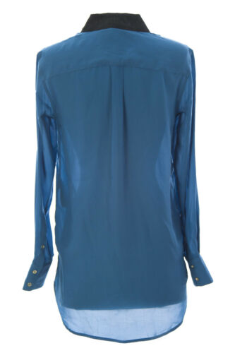 Donna Nuova Camicia Aria Notte Superficie Blu A Jessie xC6qRw40