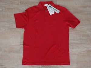 Golfino-golf-Polo-Shirt-rojo-talla-48-nuevo