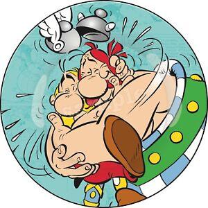 Asterix-amp-Obelix-Essbar-Tortenaufleger-NEU-Party-Deko-Geburtstag-dvd-Tortenbild