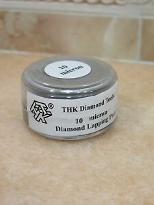 1 bottle THK 10 micron Diamond polishing lapping paste pastes compound 20 Gram