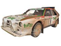 Lancia S4 Rally Sanremo 1986 Cerrato/cerri 8 Muddy Version 1/18 Autoart 88619