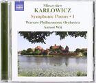 Mieczyslaw Karlowicz: Symphonic Poems, Vol. 1 (CD, Jul-2008, Naxos (Distributor))