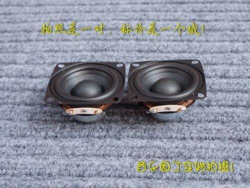 """1pair 2/"""" Inch 4Ω 8Ω 12W HiFi Full Range Audio Speaker Stereo Woofer Loudspeaker"""