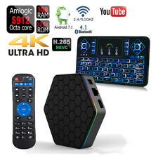 T95Z PLUS Octa Core 32GB 3GB Android 7.1 1080p TV Box+Q9 Color Backlit Keyboard