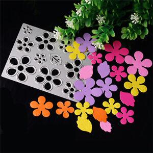 Flower-Metal-Cut-Dies-Stencil-For-Scrapbook-Paper-Card-Craft-Embossing-DIY