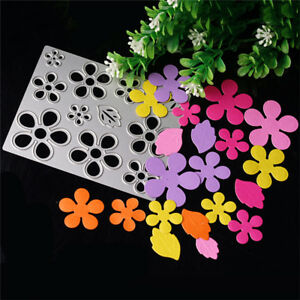 Flower-Metal-Cutting-Dies-Stencil-Scrapbook-Paper-Cards-Embossing-Decor-DIY