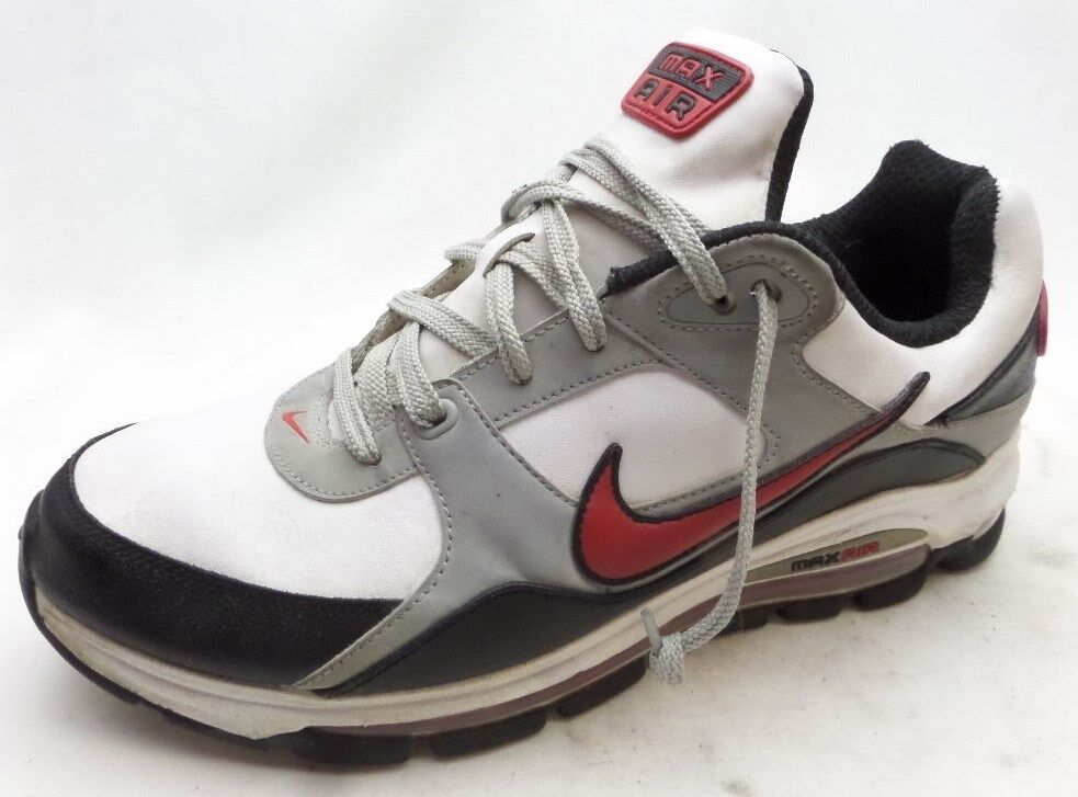Nike Air Max 401092 White Athletic Casual Shoes Mens 11