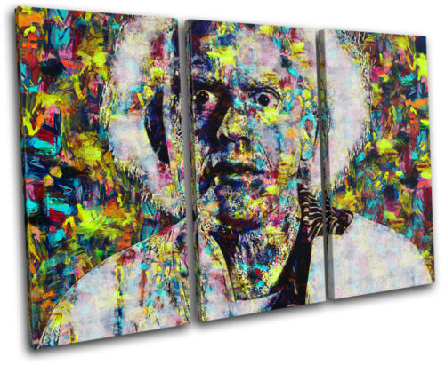 Back to the Future Pop Iconic Celebrities TREBLE CANVAS WALL ART Picture Print